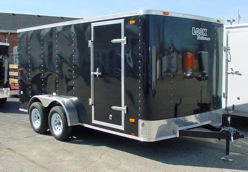 7x12 LOOK Enclosed Trailer w/ Barn Doors