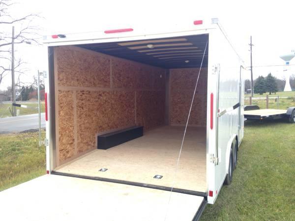 8x16 LOOK Enclosed Car Hauler Trailer