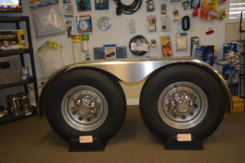 ST235/80R16-8 bolt wheels Installed while you wait