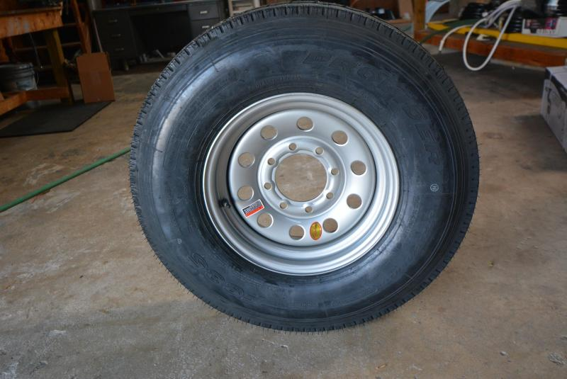 ST235/85R16 8Bolt  Installed while you wait