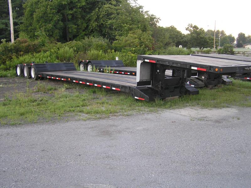 Double Drop Trailer : Used double drop trailer american of columbiana oh new