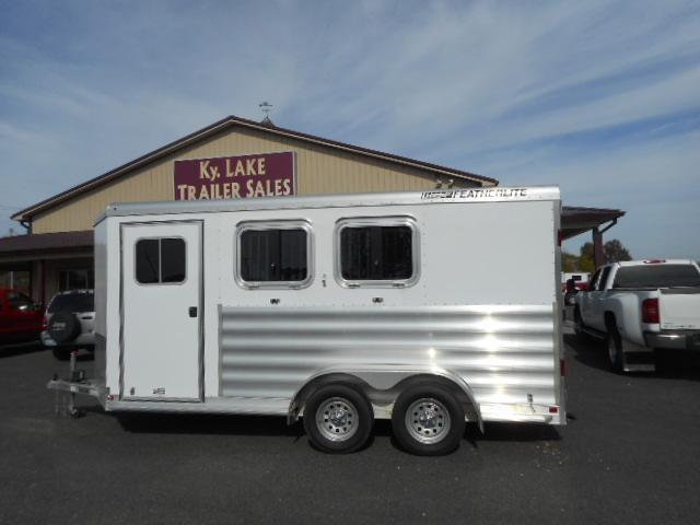 2015 Featherlite 2h BP Horse Trailer