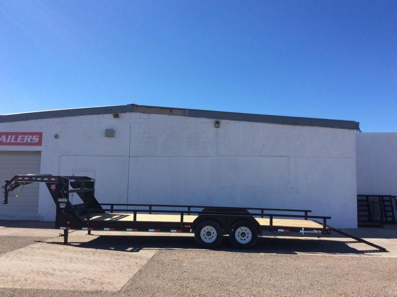"2016 PJ Trailers 24' x 6"" Channel Equipment Trailer"