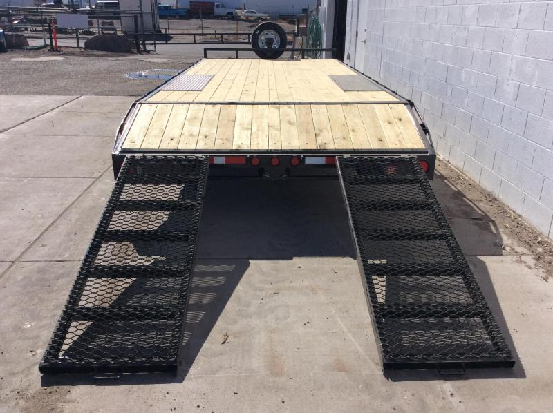 "2019 PJ Trailers 20' Light Duty Deckover 5"" Channel Trailer"