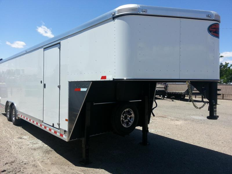 2016 Sundowner Trailers 32FT GOOSNECK Enclosed Cargo Trailer