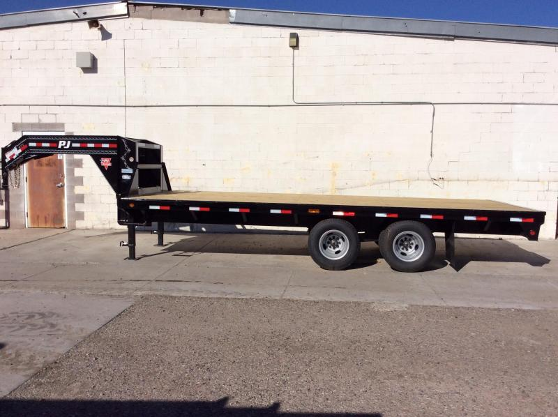2018 PJ Trailers 20' Classic Flatdeck with Duals Trailer