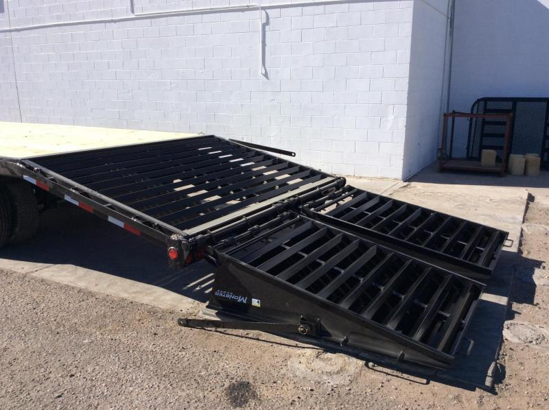2016 PJ Trailers 25' Classic Flatdeck with Duals Trailer