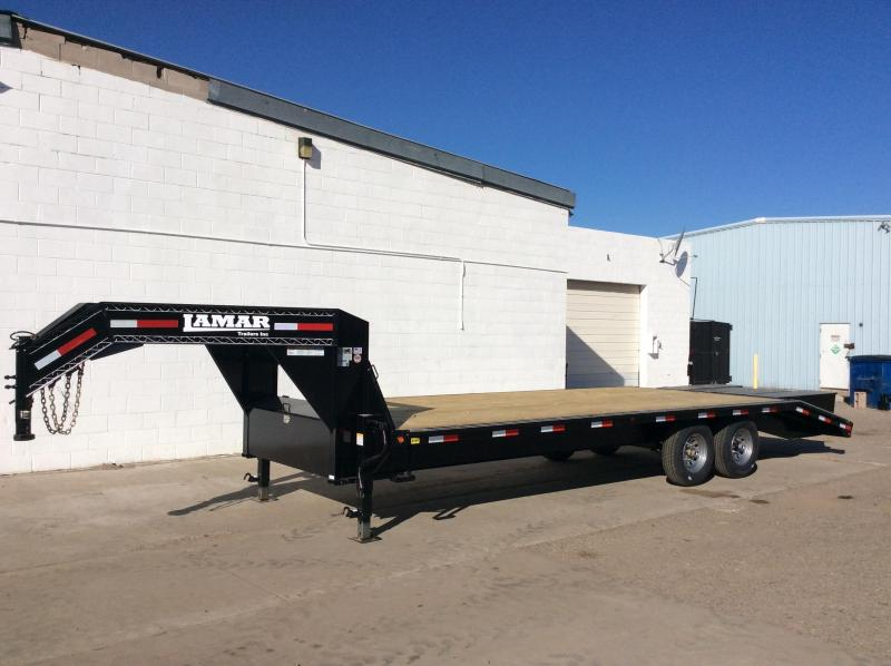 2019 25FT Lamar Trailers Gooseneck
