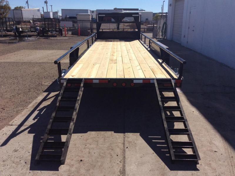 "2018 PJ Trailers 24' x 6"" Channel Equipment Trailer"