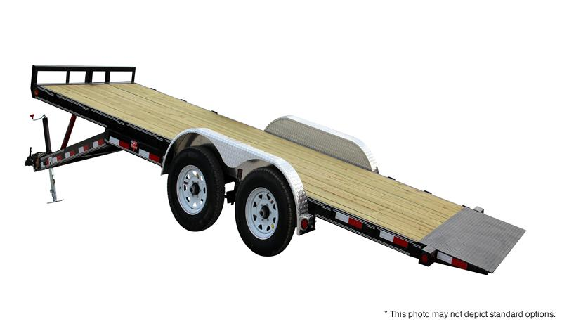 "2017 PJ Trailers 18' x 83"" Manual Tilt Trailer"