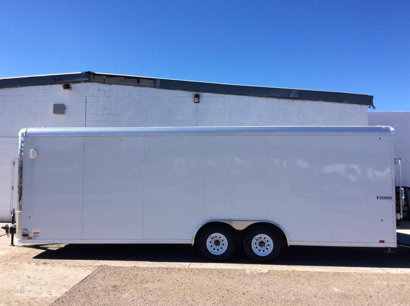 2018 20FT Look Trailers VISION Enclosed Cargo Trailer