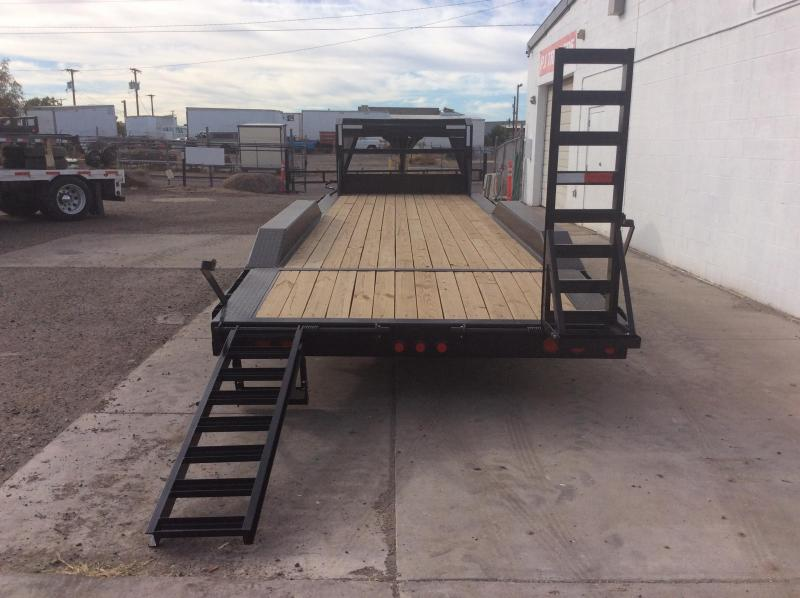 "2019 PJ Trailers 25' x 8"" Channel Super-Wide Trailer"