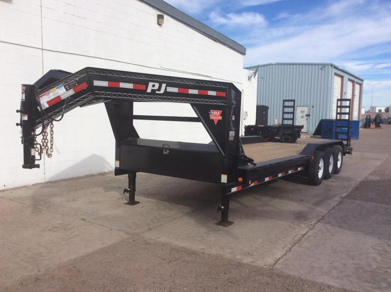 2019 PJ Trailers 25 X 8 Channel Super Wide Trailer