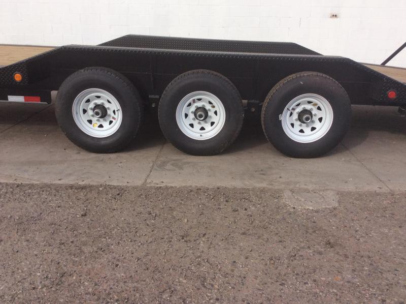 "2018 PJ Trailers 25' x 8"" Channel Super-Wide Trailer"