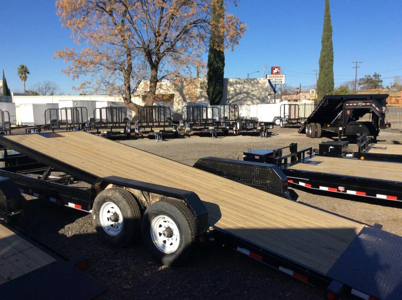 2016 PJ Trailers 20' Powered Full Tilt Trailer