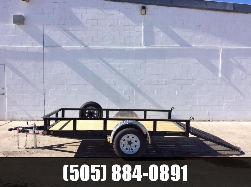 "2019 PJ Trailers 10' x 60"" Channel Utility Trailer"