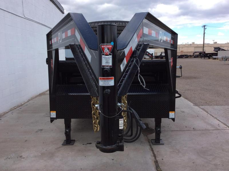 "2018 PJ GN 14' x 83"" Tandem Axle Dump Trailer"