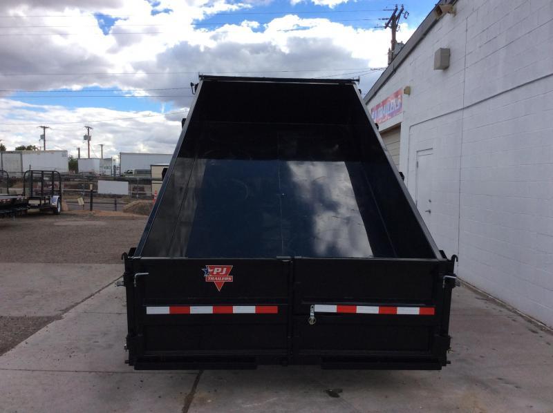 "2016 PJ Trailers 14' x 83"" Tandem Axle Dump Trailer"