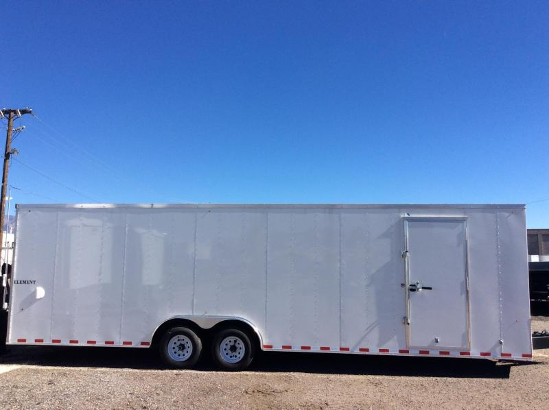 2018 28FT Look Trailers VISION Enclosed Cargo Trailer