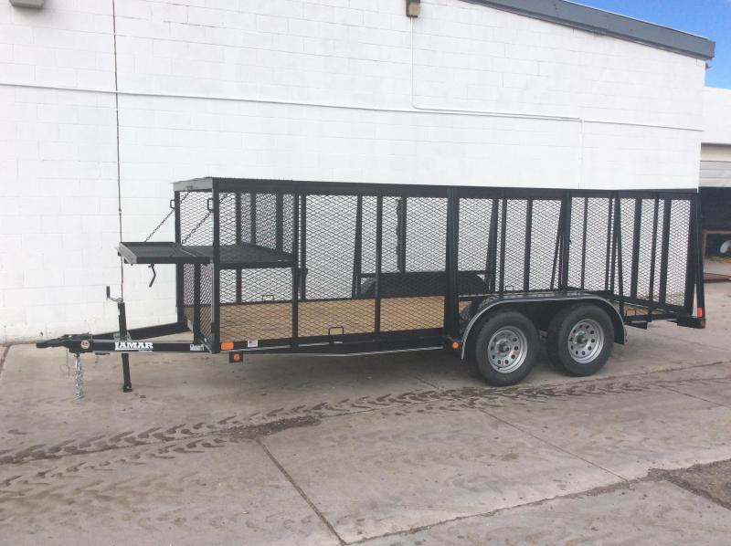 2017 Lamar Trailers 16FT LANDSCAPE Flatbed Trailer