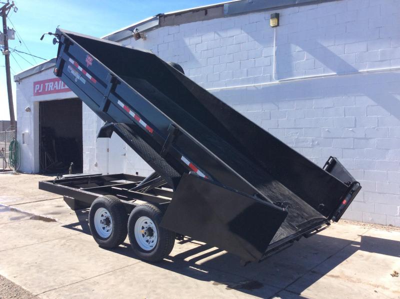 "2018 PJ BP 14' x 83"" Tandem Axle Dump Trailer"