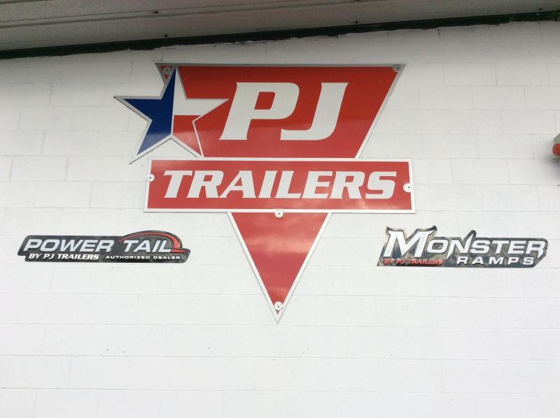 "2019 PJ Trailers 24' x 6"" Channel Equipment Trailer"