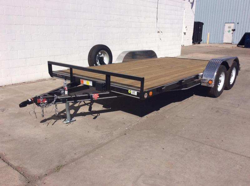"2018 PJ Trailers 20' x 5"" Channel Carhauler Trailer 10k"