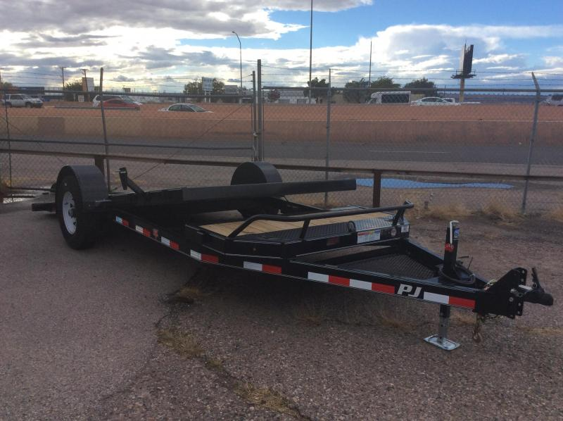 2018 PJ Trailers 16' Single Axle HD Tilt Trailer