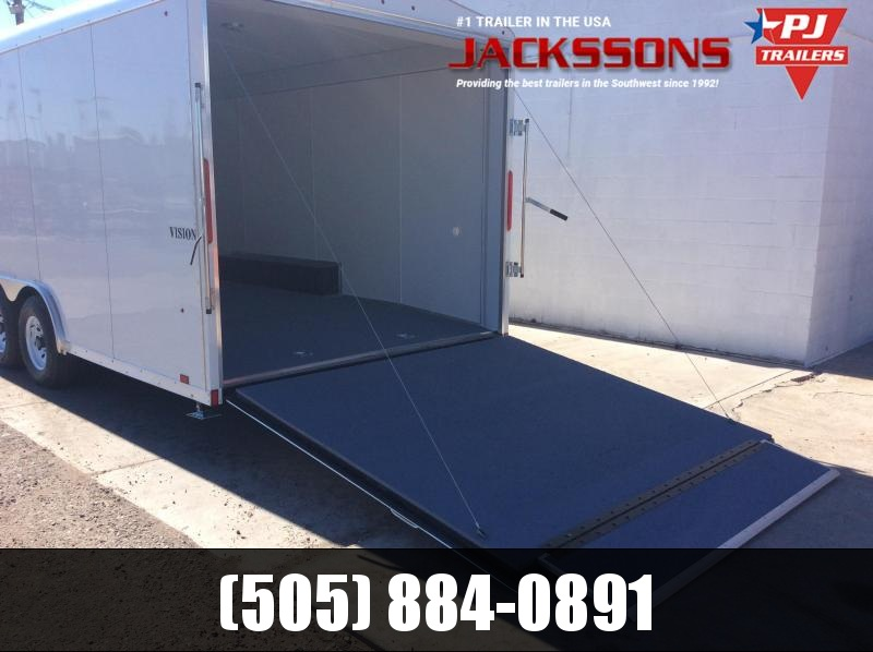 2019 24FT Look Trailers VISION Enclosed Cargo Trailer
