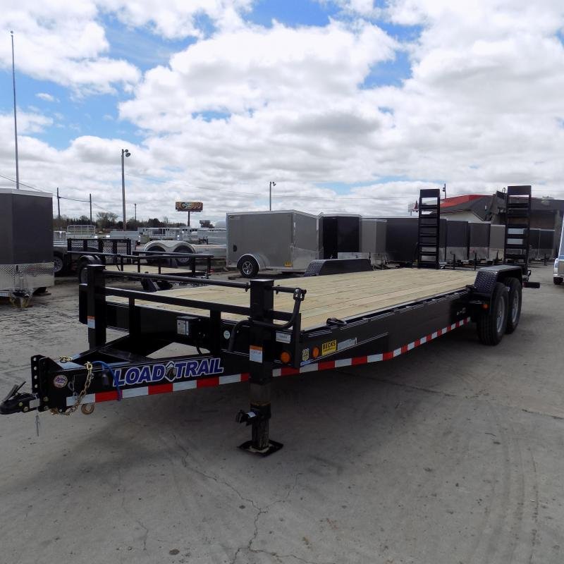"""New Load Trailer CH14 83"""" x 24' Open Car / Equipment Trailer - 14K Weight Rating"""