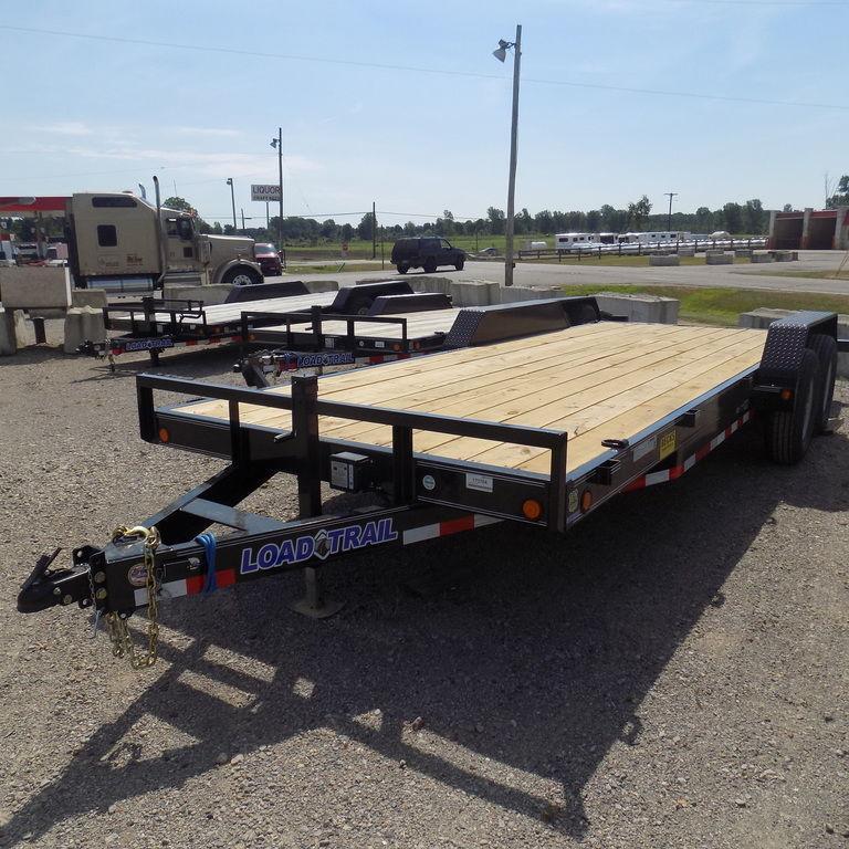 "New Load Trailer CH14 83"" x 20' Open Car Hauler / Equipment Trailer - 14K Weight Rating"