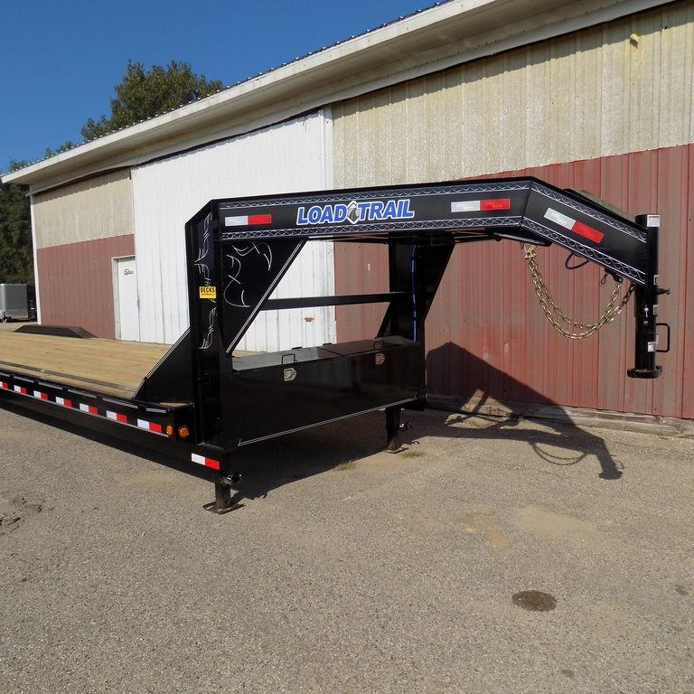 "New Load Trail 102"" x 40' Triple Axle Gooseneck Trailer For Sale"