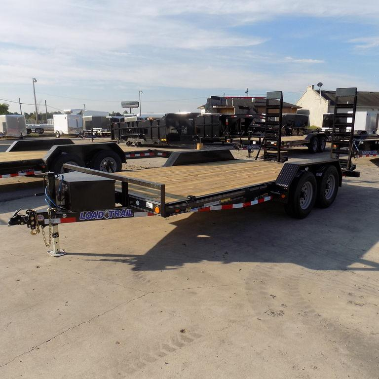 "New Load Trail 83"" x 16' Open Car Hauler On Sale"