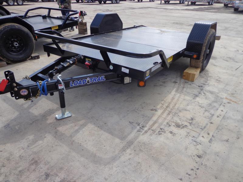 """New Load Trail 77"""" X 12' Tilt Scissor Hauler"""