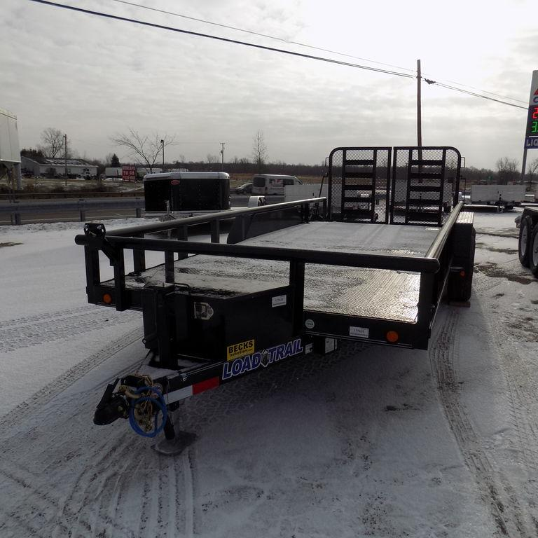 """New Load Trail 83"""" x 16' Open Car Hauler WE HAVE THE BEST DEAL GUARANTEE!"""