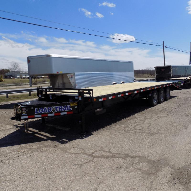 "New Load Trail PH21 102"" x 28' Triple Axle Flatbed Trailer - Pintle"