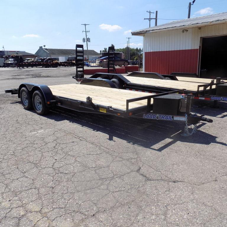"New Load Trail 83"" x 18' Open Car Hauler for Sale"