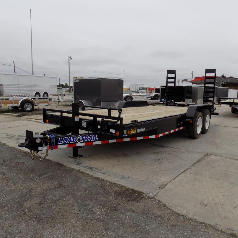 """New Load Trail 83"""" x 20' Open Car/Equipment Trailer with 8K Axles"""