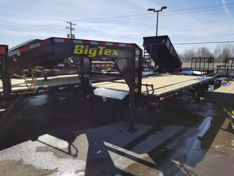 2018 Big Tex Trailers 14GN GOOSENECK Flatbed Trailer
