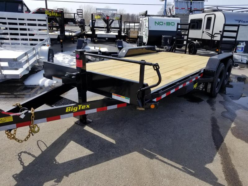 2018 Big Tex Trailers 14ET 18u0027 Equipment Trailer