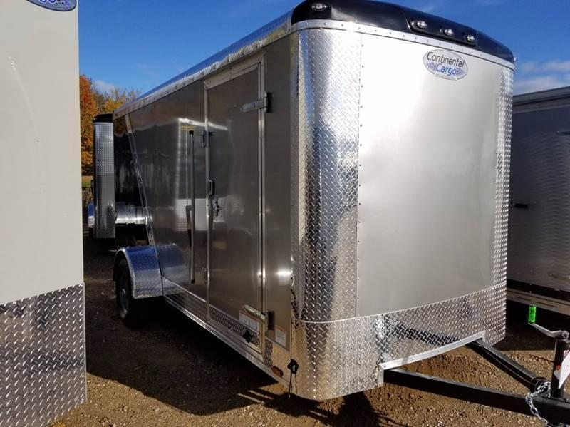 2018 Continental Cargo 6 X 14 Enclosed Trailer