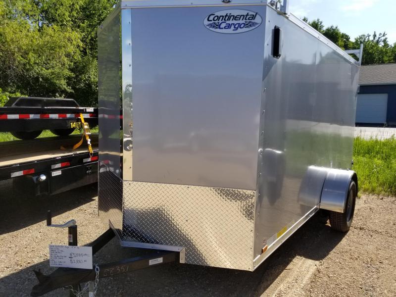 2019 Continental Cargo 6x12 Enclosed Trailer