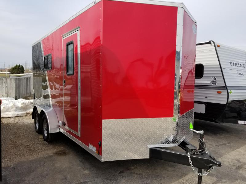 2019 Continental Cargo 7X16 UTV Enclosed Trailer
