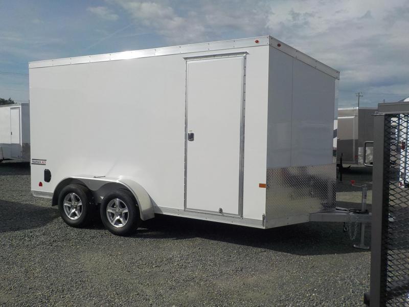 2017 Haulmark HAUV 7x14 Aluminum DLX Enclosed Cargo Trailer