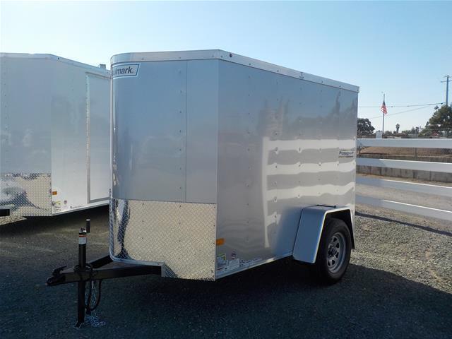 2017 Haulmark 5x8 PPT with Ramp Enclosed Cargo Trailer