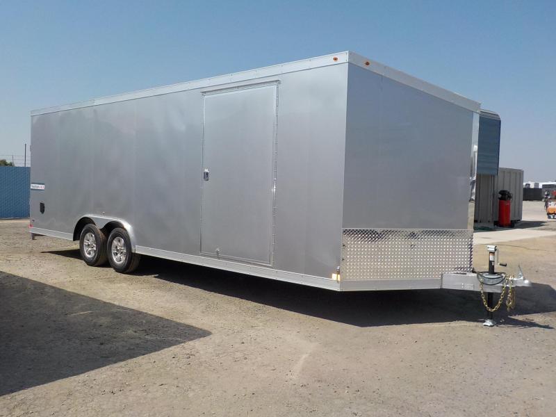 2018 Haulmark HAUV85x24WT3 Aluminum Enclosed Cargo Trailer
