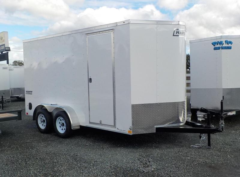 2018 Haulmark 7x14 PPT DLX 7 Tall Enclosed Cargo Trailer