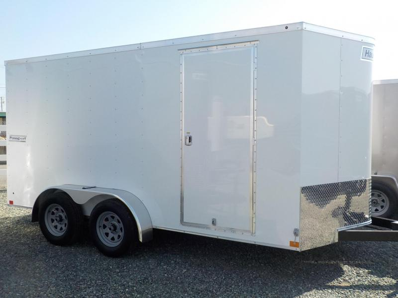2018 Haulmark 7x14 PPT with Ramp Enclosed Cargo Trailer