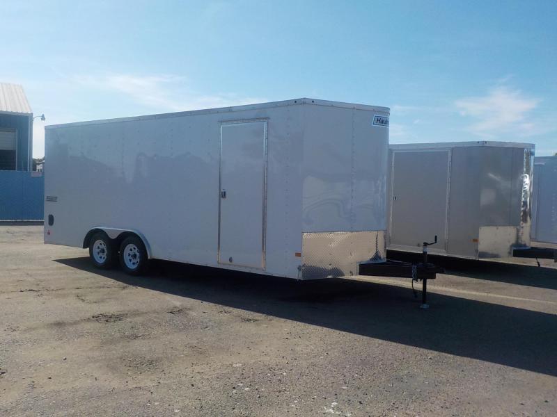 2017 Haulmark PPT 8.5x20 7' Tall Car / Racing Trailer