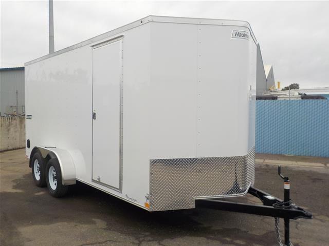 2018 Haulmark PPT7x16DT2 DLX 12 Enclosed Cargo Trailer